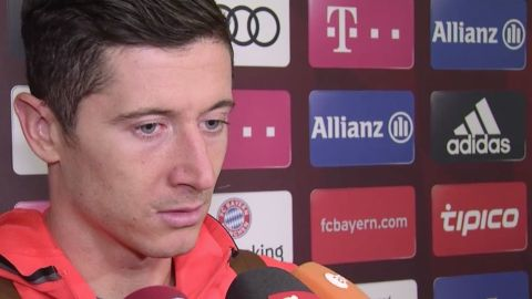 Watch: Lewandowski on Bayern's draw