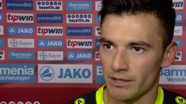 Watch: Aranguiz on scoring in Leverkusen's win
