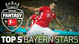 Fantasy Bundesliga: top five Bayern scorers