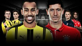 Watch: Lewandowski vs Aubameyang