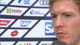 Watch: Nagelsmann disappointed with draw