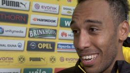 Watch: Aubameyang explains push-up celebration
