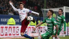 HSV and Bremen share Nordderby spoils