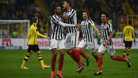 Watch: Frankfurt 2-1 Dortmund - Highlights