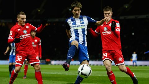 Mainz vs. Hertha Berlin: Line-ups and statistics