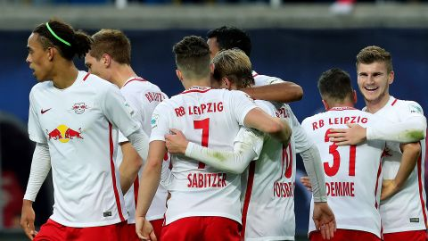 Watch: RB Leipzig living the dream