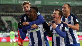 Hertha slay Wolves at the death
