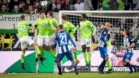 Watch: Wolfsburg 2-3 Hertha - Highlights