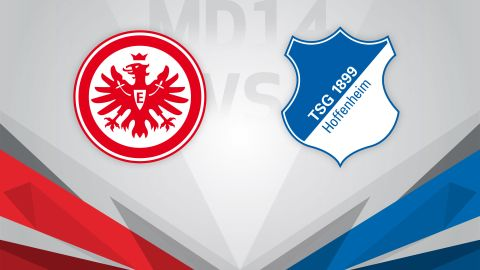 Frankfurt host Hoffenheim in top-four tussle