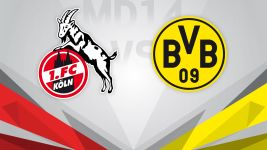 European places on the line as Köln host Dortmund