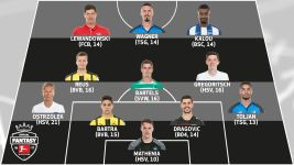 #BLFantasy - Matchday 13 Team of the Week