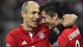 Lewandowski strike downs Atletico