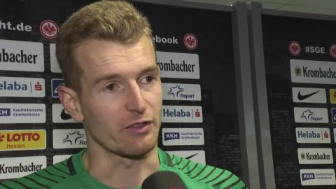 Watch: Hradecky - 'Didn't have to make a save'