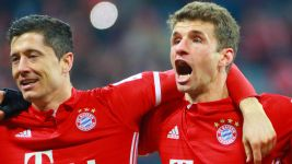 Watch: Lewandowski and Müller on Bayern win