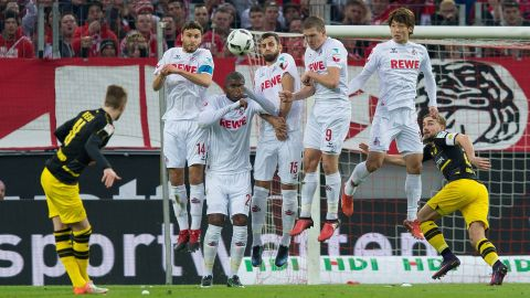 Watch: Köln 1-1 Dortmund - Highlights