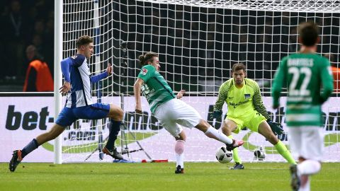 Previous meeting: Hertha 0-1 Bremen