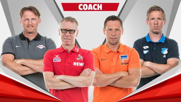 Bundesliga team of the hinrunde the coaches - Last season bundesliga table ...