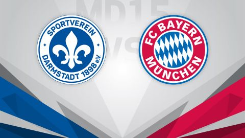 Rock-bottom Darmstadt welcome leaders Bayern