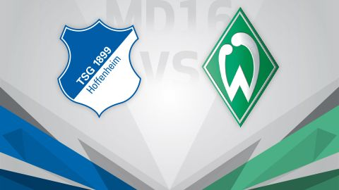 Hoffenheim defend unbeaten run at home to Bremen