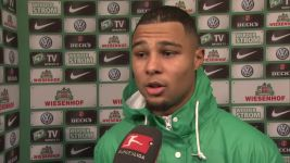 Watch: Gnabry on how Bremen held Köln