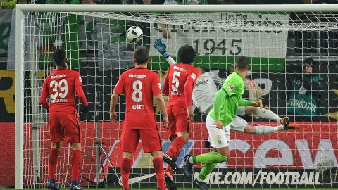 Watch: Wolfsburg 1-0 Frankfurt - Highlights