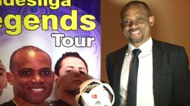 Bundesliga Legends Tour 2016: Oliseh in Kenya