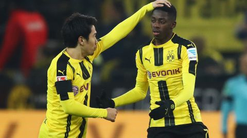 Dembele on target in BVB draw