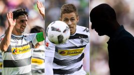 Season so far: Borussia Mönchengladbach