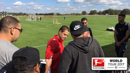 Watch: Chicharito and Leverkusen settling in
