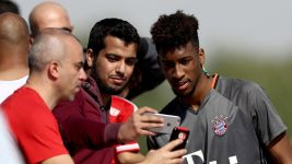 Bayern's training camp in Doha: day four
