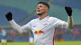 Leipzig's Burke ready for Frankfurt
