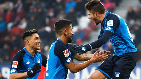 Watch: Augsburg 0-2 Hoffenheim - highlights