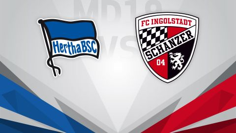 Hertha seek to end losing run against Ingolstadt