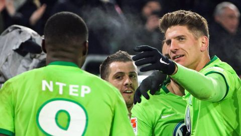 Watch: Wolfsburg 1-0 Hamburg - highlights