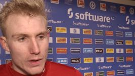 Watch: Sörensen: 'We were better than Darmstadt'