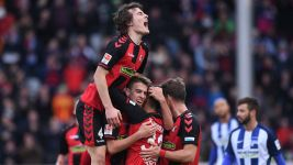 Watch: Freiburg 2-1 Hertha - highlights