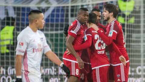 Watch: Ingolstadt 3-1 Hamburg - highlights