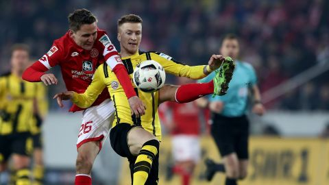Watch: Mainz 1-1 Dortmund - highlights
