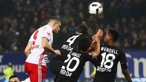 Watch: Hamburg 1-0 Leverkusen - highlights
