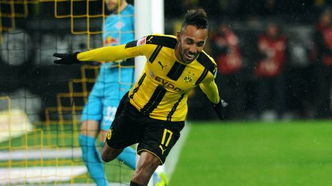 Aubameyang: 'Of course we can finish second'