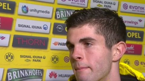 Watch: Pulisic: 'We played hard'