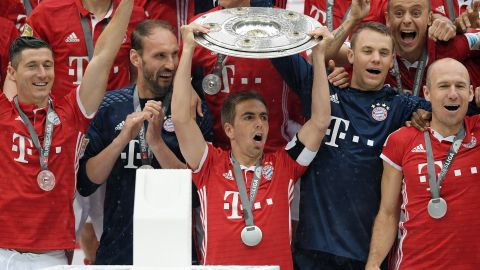 Lahm aims to end on a high