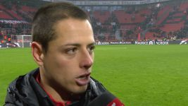Watch: Chicharito: 'Goals a team effort'