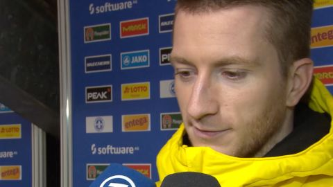 Watch: Reus: 'It's tough to take'