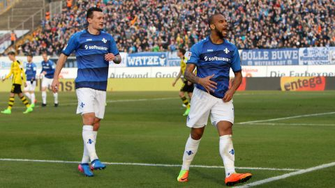Watch: Darmstadt 2-1 Dortmund - highlights