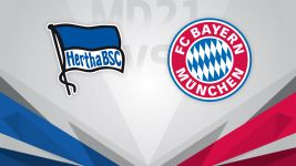 Hertha aim to bounce back against leaders Bayern.