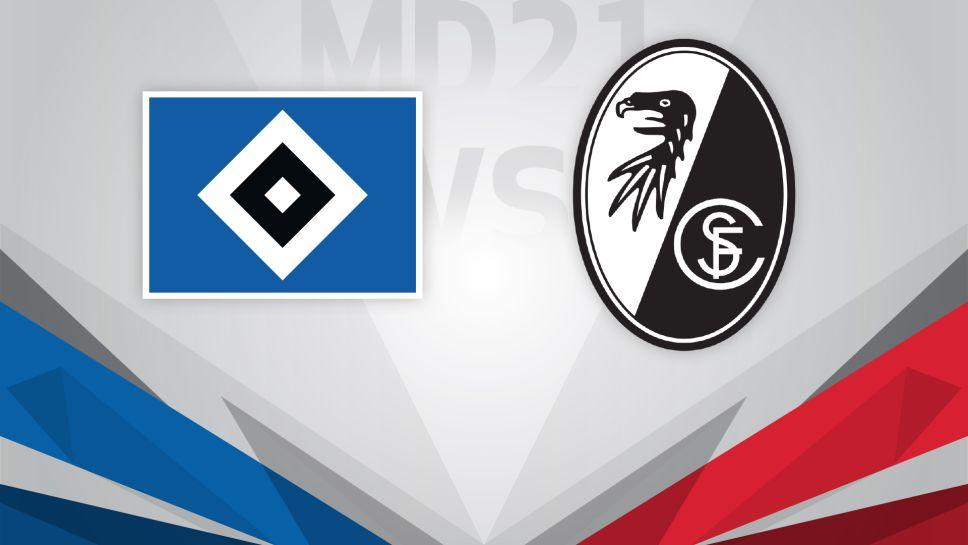 Spieltag Hamburger Sv Sc Freiburg Fakten Zum Duell Bundesliga De