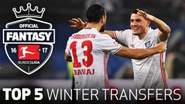 Watch: Top 5 Fantasy Winter Signings