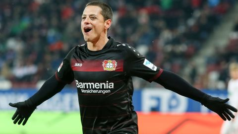 Chicharito in Top-Form