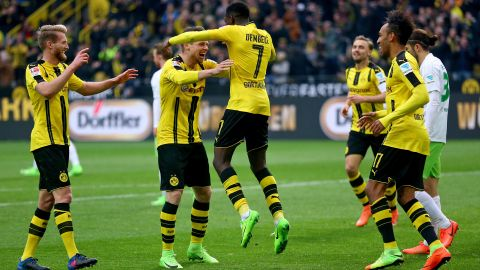 Watch: Dortmund 3-0 Wolfsburg - highlights